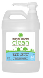Fabric softener keeps clothing soft and static free and is safe for hand-washables