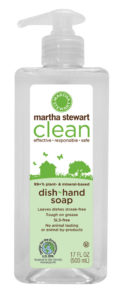 Dish & hand soap leaves dishes streak-free and is tough on grease