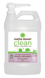 Laundry detergent keeps colors looking new and removes tough stains