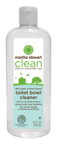 Toilet bowl cleaner is safe for all toilet surfaces and leaves the toilet bowl sparkling