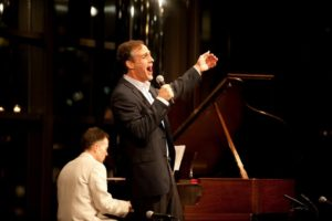 Howard McGillin - singer/actor - sang 'Something's Coming' from West Side Story. Photo Credit Nan Melville