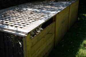 The compost bin - a very practical and efficient design