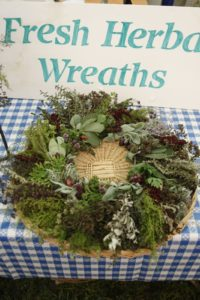 A very beautiful and aromatic wreath