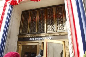 Our first stop was the Governors' Reception at Bank of America - my bank.