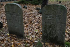 James H. Miller and his wife Elizabeth - they lived long lives and died in the 1860's.