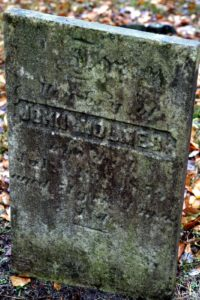John Holmes - his stone really needs a cleaning.