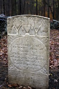 in memory of Jesse, son of James & Polly Williams, who departed this life April 26, 1833.