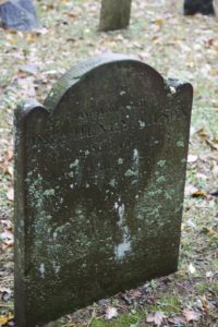 Doct. Henry Wilson died in 1799 at age 36.