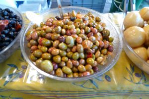 And lovely mixed olives