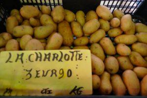 So many types of potatoes - La Charlotte