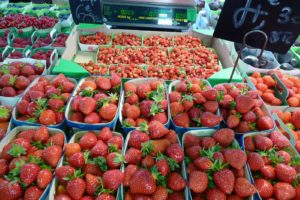 Great delectable strawberries