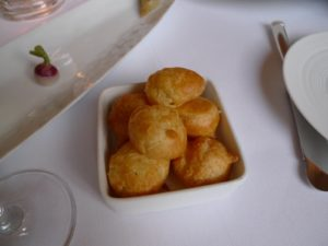 Light as air gougères - cheese puffs