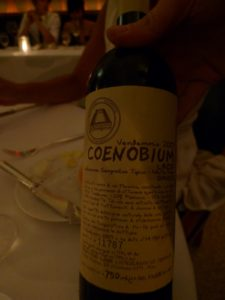 A most unusual wine that none of us had ever drunk