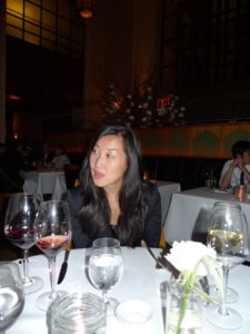 Laura's SVP of Marketing and Sales, Seungah Jeong, is also a foodie and totally into fine dining.