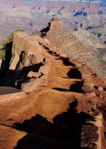 Grand Canyon, AZ, South Rim, hiking down - taken with Lumix LX3