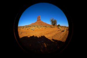 Monument Valley, Utah - taken with Lumix LX3 using Fisheye Lens