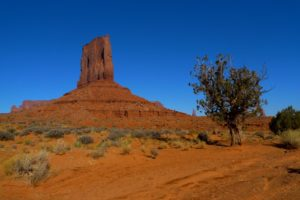 Monument Valley, Utah, walking on Wildcat Trail - taken with Lumix LX3