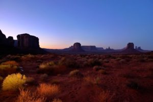 Monument Valley, Utah, on the Valley Drive, near sunset - taken with Lumix LX3