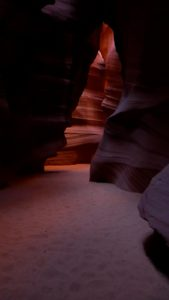 Antelope Canyon, AZ, Upper Canyon - taken with Lumix LX3