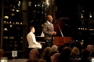 Djordje Nesic - piano and Tituss Burgess - Tenor performing 'God Bless the Child' Photo Credit Nan Melville