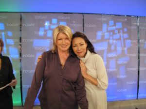 Here I am with Ann Curry.