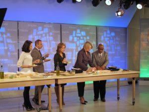 Ann, Matt, Meredith, me, and Al.  It was a very fun segment.