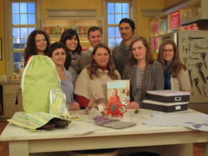 The MSLO team that worked on the development of our second crafts book - Martha Stewart's Encyclopedia of Sewing and Fabric Crafts.