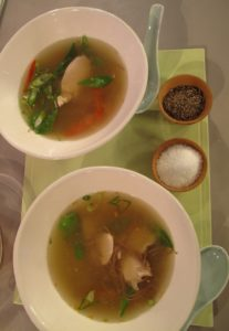 Hot, flavorful, and satisfying - Asian chicken soup