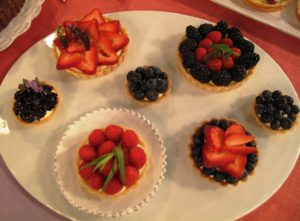 Berries and Cream Tartlets - In these classic tartlets, colorful berries are married with mellow, sweet pastry cream in a crisp, sweet crust.