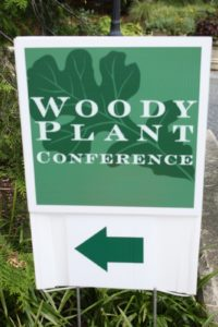 The Woody Pant Conference held at Swarthmore College.  The Scott Arboretum is the campus of the college and has a world renowned collection of woody plants.