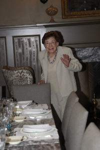 My mother, Big Martha, on her 93rd birthday