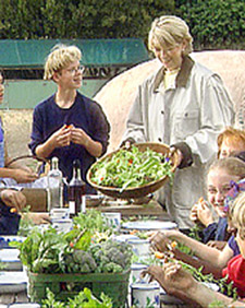 Alice Waters takes me on a tour of her Edible Schoolyard in Berkeley, CA. (OAD: 9/10/1997)