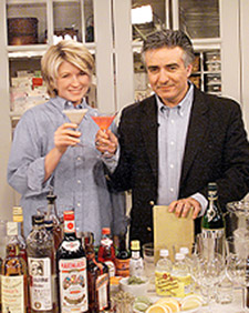 Mixologist Dale DeGroff shows how to create the best bar for a cocktail party. (OAD: 4/12/1999)