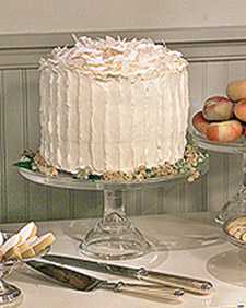 I make a beautiful layered coconut cake (OAD: 7/28/1999)