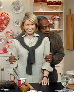 Bill Cosby learns how to make ice cream sandwiches for Valentines' Day. (OAD: 2/9/2001)