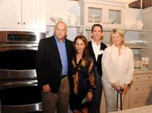 Bob Baird - Merchandising Vice President of Kitchens for The Home Depot, Robin Marino - CEO of MSLO, Kevin Sharkey, and me