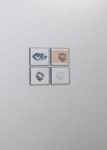 Leigh Forsstrom's yam prints.