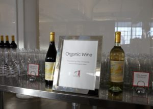 Organic red and white wines were generously donated by Frey Vineyards.