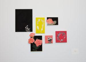 Jodi Levine's collages.