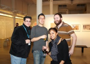Mike Varrassi, Raymond Hom, Stacey Tyrell, and Brian Gardner