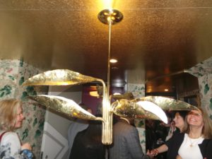 People loved this beautiful mid-century Italian brass hanging fixture.