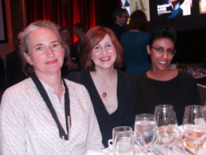 At the ASME Awards, we had a great table right near the stage.  These are members of our art dept – Jennifer Wagner - Design Director, Jenn McManus - Deputy Design Director, and Jaspal Riyait - Art Director.