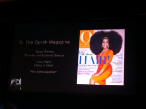 "O won the category of Leisure Interests for ""Hair Extravaganza!""  I love this Oprah Magazine cover!  It's said that the wig weighed 3.5 pounds, which is approximately the weight of a small Chihuahua."