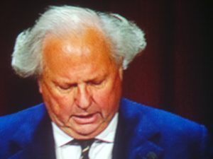 This year, Graydon Carter, the Editor of Vanity Fair, was elected into the Magazine Editors' Hall of Fame.