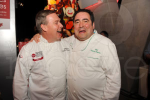 Jacques Torres and Emeril Lagasse Seth Browarnik/WorldRedEye.com