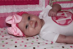 Adalyn Burns, 14 weeks