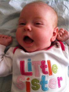 Annie Siobhan, 8 weeks