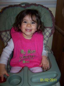 Bella Eowyn, age 18 months