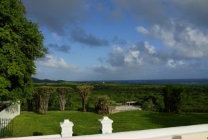 The acreage of Cane Garden also includes a mile of lovely beachfront land.