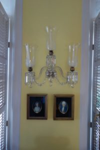 A beautiful wall sconce